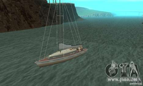 Marquis Segelyacht 09 Textures pour GTA San Andreas