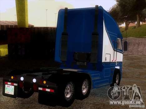 Freightliner Argosy Skin 1 pour GTA San Andreas vue de droite