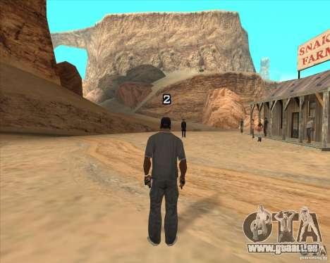 Duel de Cowboy pour GTA San Andreas quatrième écran