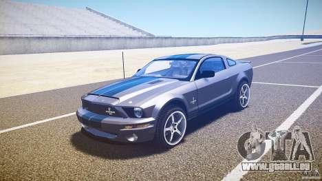 Shelby GT500kr für GTA 4 linke Ansicht