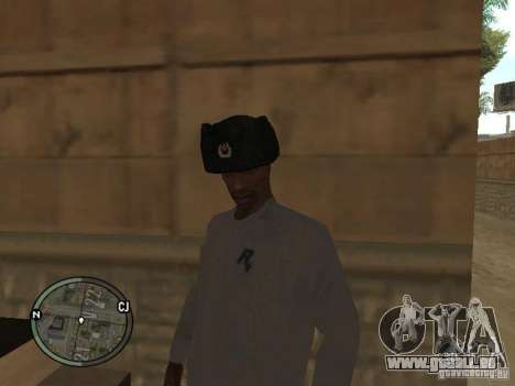 Uschanka für GTA San Andreas zweiten Screenshot