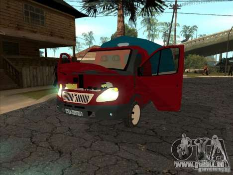 3302 Gazelle pour GTA San Andreas