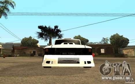 IZH 27151 pour GTA San Andreas vue de droite