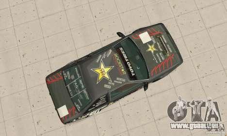 Toyota AE86wrt Rockstar pour GTA San Andreas vue de droite