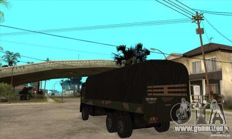 DFT-30 Brazilian Army pour GTA San Andreas sur la vue arrière gauche