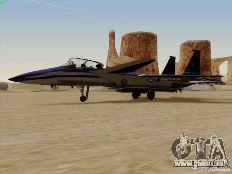 F-15 SMTD pour GTA San Andreas laissé vue