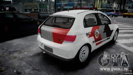 Volkswagen Gol G5 PMSP [ELS] pour GTA 4 est un côté