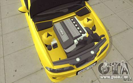 BMW M5 E39 - FnF4 für GTA San Andreas Unteransicht