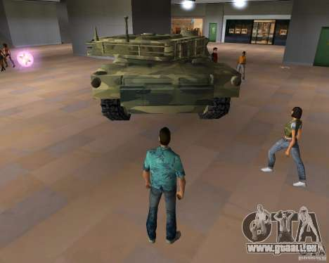 Camo-tank für GTA Vice City Screenshot her