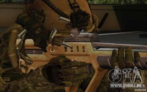Tavor Tar-21 Desert für GTA San Andreas dritten Screenshot