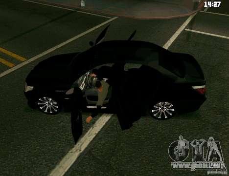 BMW M5 pour GTA San Andreas laissé vue