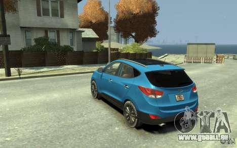 Hyundai IX35 2010 Beta für GTA 4 hinten links Ansicht