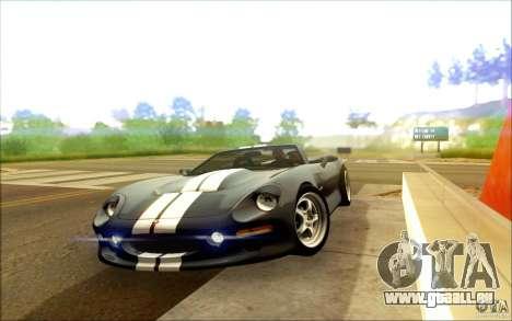 Shelby Series 1 1999 für GTA San Andreas zurück linke Ansicht