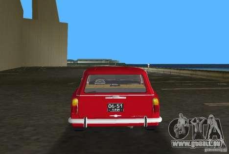 VAZ 2102 für GTA Vice City Innenansicht