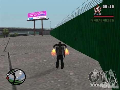 Un nouvel aéroport à San Fierro pour GTA San Andreas troisième écran
