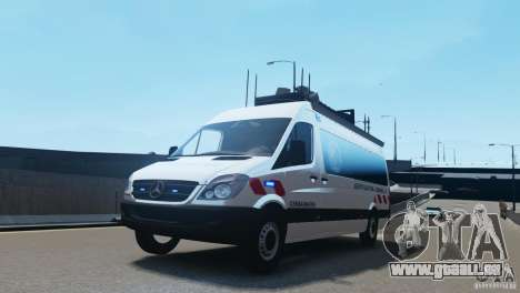 Mercedes-Benz Sprinter-Identification Criminelle pour GTA 4
