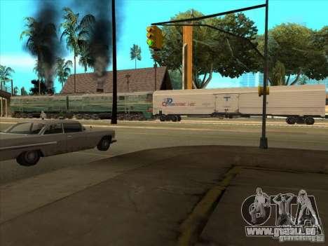 2te10v-3594 für GTA San Andreas Rückansicht