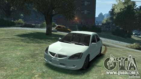 MITSUBISHI LANCER 1.6 für GTA 4