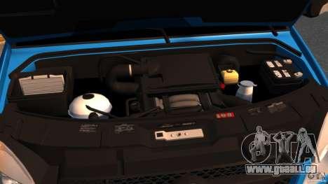 Mercedes-Benz Sprinter 3500 Car Transporter pour GTA 4 Vue arrière