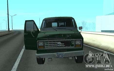 Ford E-150 Short Version v3 für GTA San Andreas