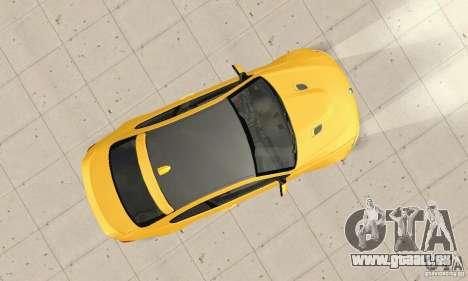 BMW M3 2008 Hamann v1.2 pour GTA San Andreas vue intérieure