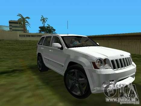 Jeep Grand Cherokee SRT8 TT Black Revel pour GTA Vice City