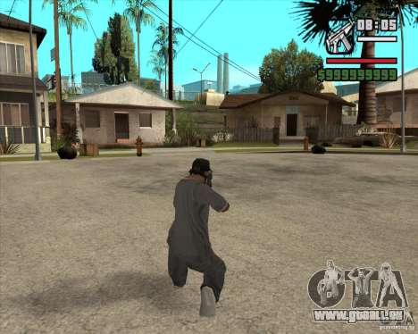 MP5 AGOG für GTA San Andreas dritten Screenshot
