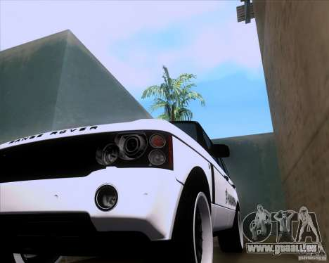 Range Rover Hamann Edition pour GTA San Andreas vue arrière