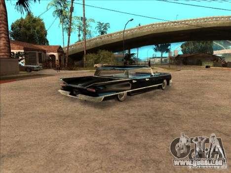 Buick Santiago pour GTA San Andreas vue arrière