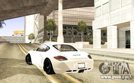 Porsche Cayman R pour GTA San Andreas vue de droite