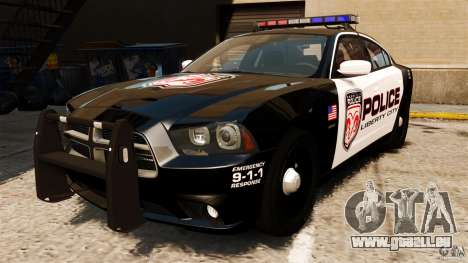Dodge Charger RT Max Police 2011 [ELS] pour GTA 4