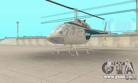 Bell 206B JetRanger II für GTA San Andreas