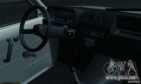 VAZ 1111 Oka pour GTA San Andreas vue arrière