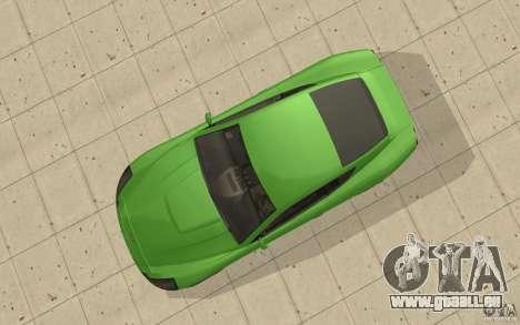 Super GT à partir de GTA 4 pour GTA San Andreas vue de droite