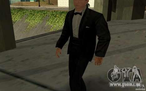 Agent 007 pour GTA San Andreas deuxième écran