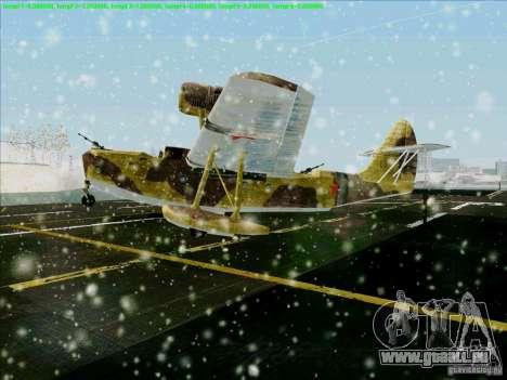 MBR-2 für GTA San Andreas linke Ansicht