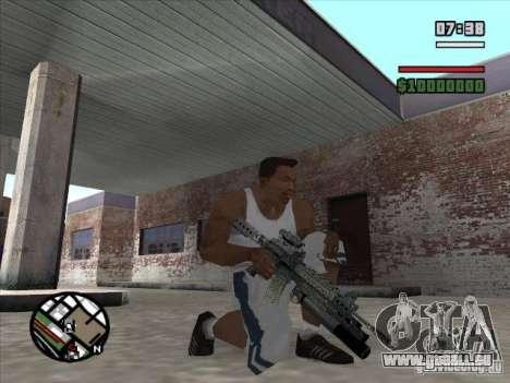 M4 von S. t. A. l. k. e. r. (a) für GTA San Andreas