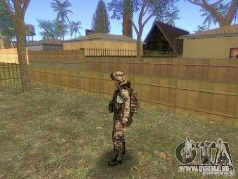 Blackburn de BF3 pour GTA San Andreas troisième écran