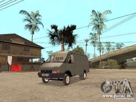 Gazelle 2705 en 1994. pour GTA San Andreas laissé vue