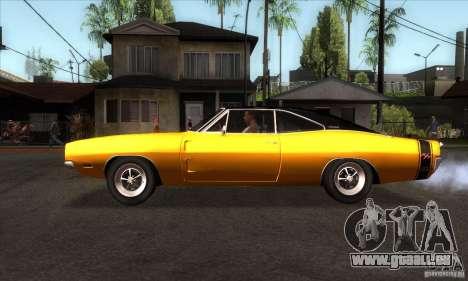 Dodge Charger RT 1969 für GTA San Andreas linke Ansicht