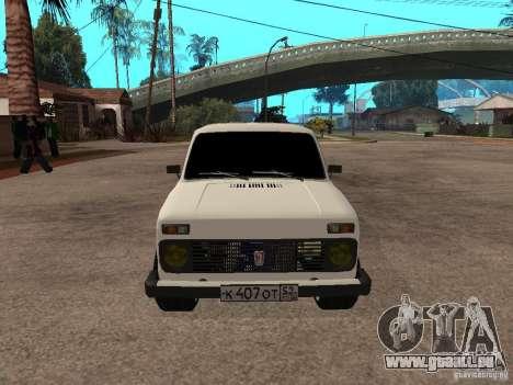 VAZ 2131 für GTA San Andreas linke Ansicht