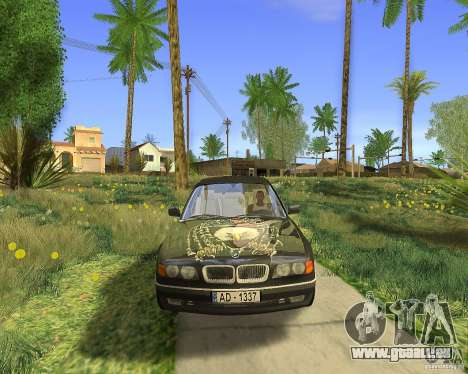 BMW 730i E38 1996 pour GTA San Andreas vue de droite