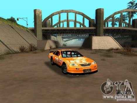 Toyota Camry Nascar Edition für GTA San Andreas Innenansicht