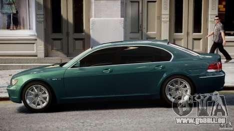 BMW 7 Series E66 pour GTA 4 est un côté