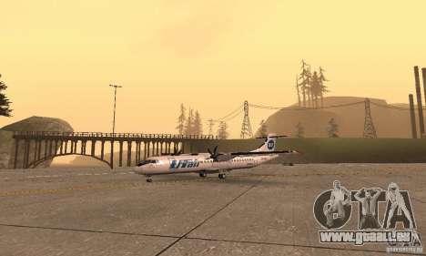 ATR 72-500 UTair für GTA San Andreas