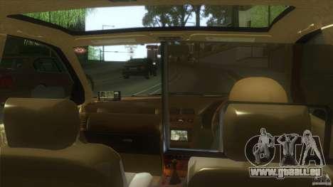 Nissan Cefiro A32 Kouki Japanese PoliceCar für GTA San Andreas zurück linke Ansicht