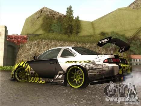 Nissan 200SX S14A für GTA San Andreas Seitenansicht