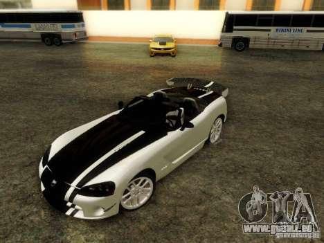 Dodge Viper SRT-10 Roadster ACR 2004 für GTA San Andreas Innenansicht