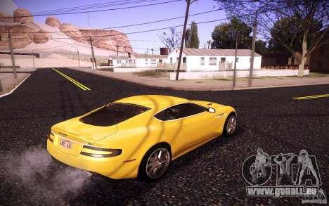 Aston Martin DBS für GTA San Andreas linke Ansicht