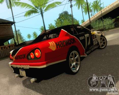 Need for Speed Elegy für GTA San Andreas obere Ansicht